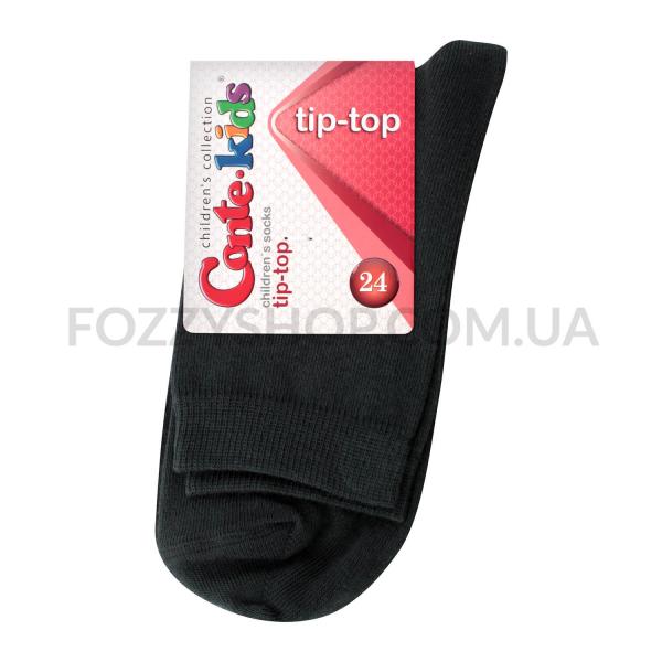 Носки детские Conte-kids TipTop 000 тем.серый р.24