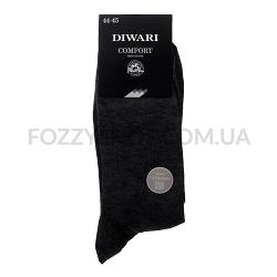 Носки муж DiWaRi Comfort 15С66 тем.серый р.29 000
