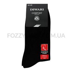 Носки муж DiWaRi Comfort 6С-18СП 000 черные р.29