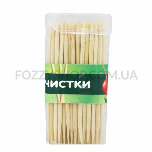 Зубочистки бамбукові YI-02