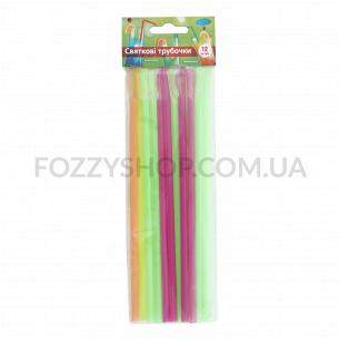 Трубочки для коктейлей Soton цветные 20см