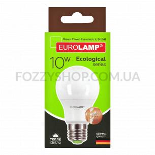 Лампа Eurolamp Led Eco P А60 10W 3000K E27