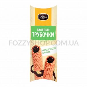 Трубочка Tarta вафельная с какао пастой и арахисом