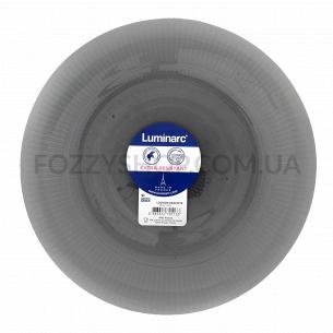 Тарелка обеденная Luminarc Louison Graphite 25см