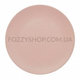 Тарелка розовая 20 см