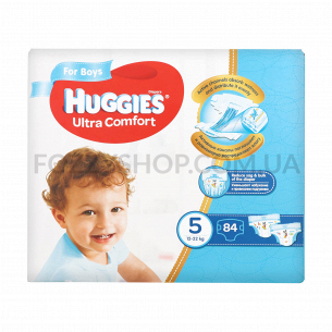 Подгузники Huggies Ultra Comfort Boy 5 Box 12-22кг