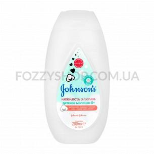 Молочко для лица и тела Johnson`s Нежность хлопка