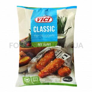 Наггетсы рыбные VICI в панировке с рисов/хлопьев