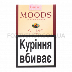 Сигары Moods Slims Filter