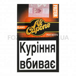 Сигары Al Capone Pockets Filter Flame