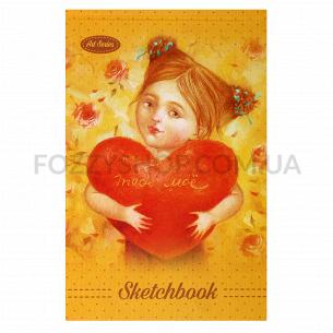 Скетчбук Bourgeois 7БЦ 197х124мм 36л