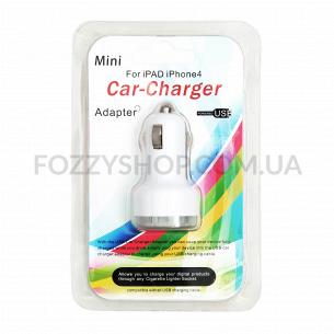 Устройство зарядное д/автомобиля USB YI-02
