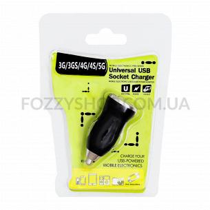 Устройство зарядное д/автомобиля USB YI-03