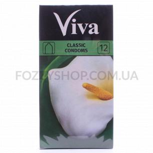 Презервативы Viva классические латексные