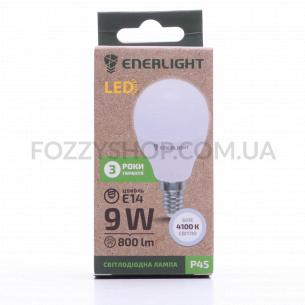 Лампа светодиодная Enerlight P45 9Вт 4100K E14
