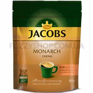 Кофе растворимый Jacobs Monarch Крема эконом.пакет