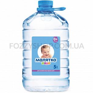Вода питьевая Малятко