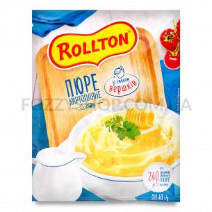 Пюре Rollton картофельное со вкусом сливок саше