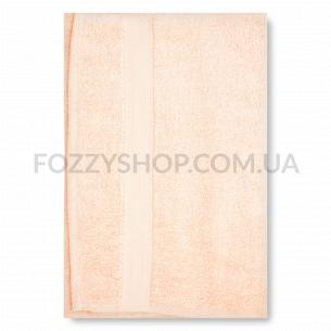 Полотенце махровое Saffran петля персиковый 40х70