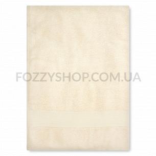 Полотенце махровое Saffran бордюр кремовый 70х140