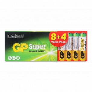 Батарейки GP 24A8/4-2UE щелочная AAA LR03
