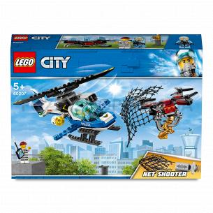 Конструктор Lego City 60207 Воздушная полиция: погоня с дроном