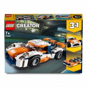 Конструктор Lego Creator 31089 Гоночный автомобиль в Сансет