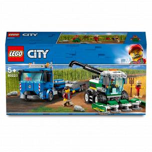 Конструктор Lego City 60223 Кормоуборочный комбайн
