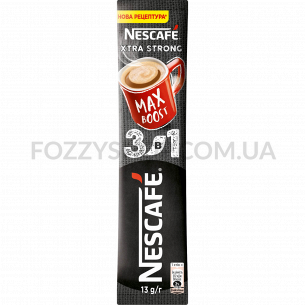 Напиток кофейн Nescafe Xtra Strong микс 3в1 раств