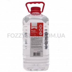 Вода дистиллированная Extra! техническая