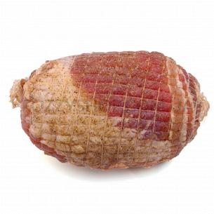 Свиной рулет из грудинки в специях