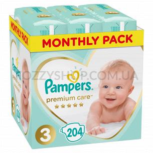 Подгузники Pampers Premium Care Midi 6-10кг