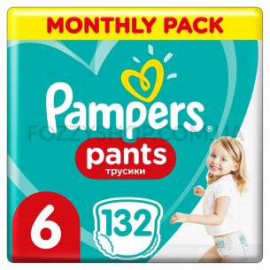 Подгузники-трусики Pampers Pants Extra Large 15+кг