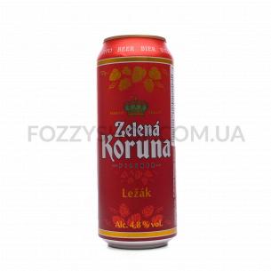 Пиво Zelena Koruna Lezak...