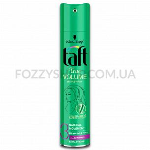 Лак для волос Taft True Volume Фиксация 3 250 мл