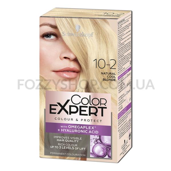 Стойкая крем-краска Color Expert с гиалуроновой кислотой 10-2 Натуральный Холодный Блонд 142,5 мл