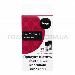 Картриджи Logic Compact Purple Mix 1,5%