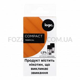 Картриджи Logic Compact Tropical 1,5%