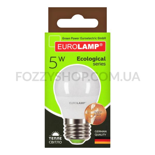 Лампа Eurolamp Led Eco P G45 5W 3000K E27