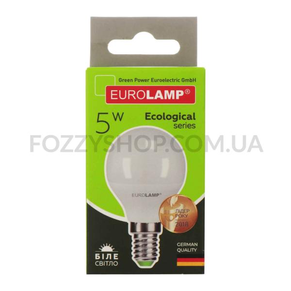 Лампа Eurolamp Led Eco P G45 5W 4000K E14