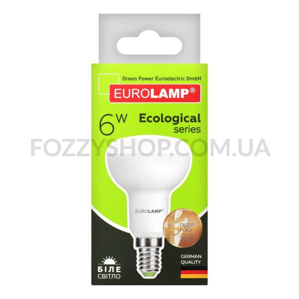 Лампа Eurolamp LED ECO P R50 6W 4000K E14
