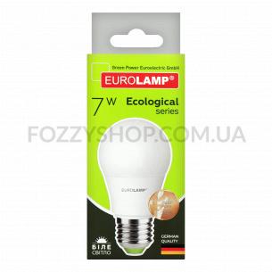 Лампа Eurolamp LED ECO P А50 7W 4000K E27