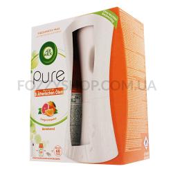 Набор AirWick Pure Освежитель Апельсин-Грейпфрут 250мл