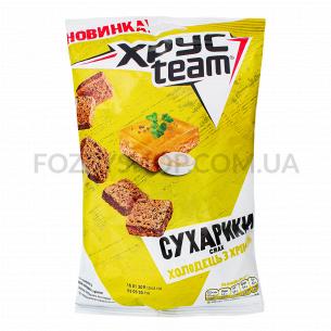 Сухарики ХРУСteam со вкусом холодца с хреном