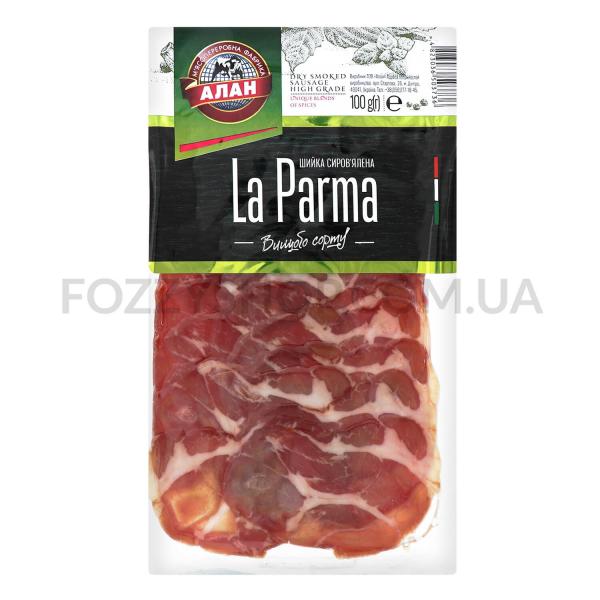 Шейка Алан La Parma нарезка в/с
