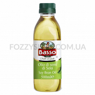 Масло соевое Basso