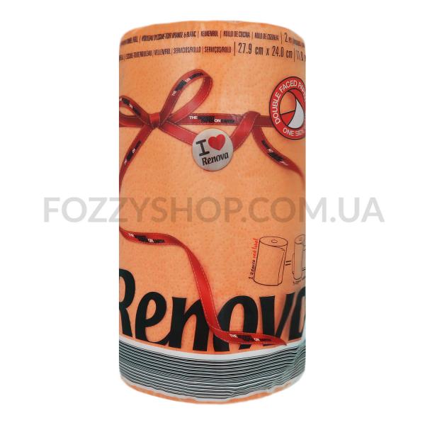Полотенца кухонные Renova Red Label оранжевые