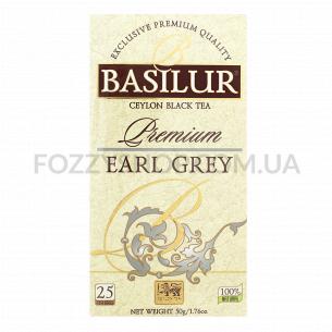 Чай черный Basilur с бергамотом премиум коллекция