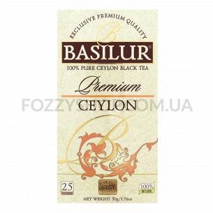 Чай черный Basilur цейлонский премиум коллекция