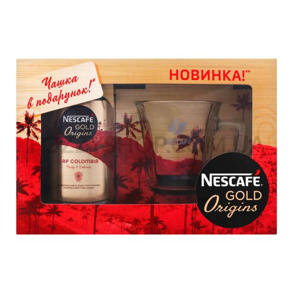 Набор: кофе Nescafe Gold Origins Cap Colombia + чашка